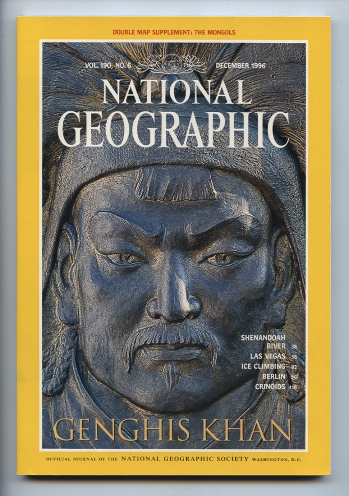 National Geographic Magazine December 1996