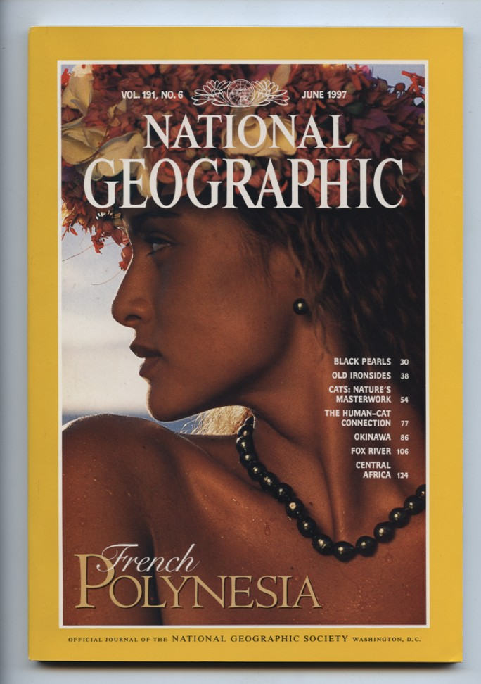 National Geographic Magazine June 1997
