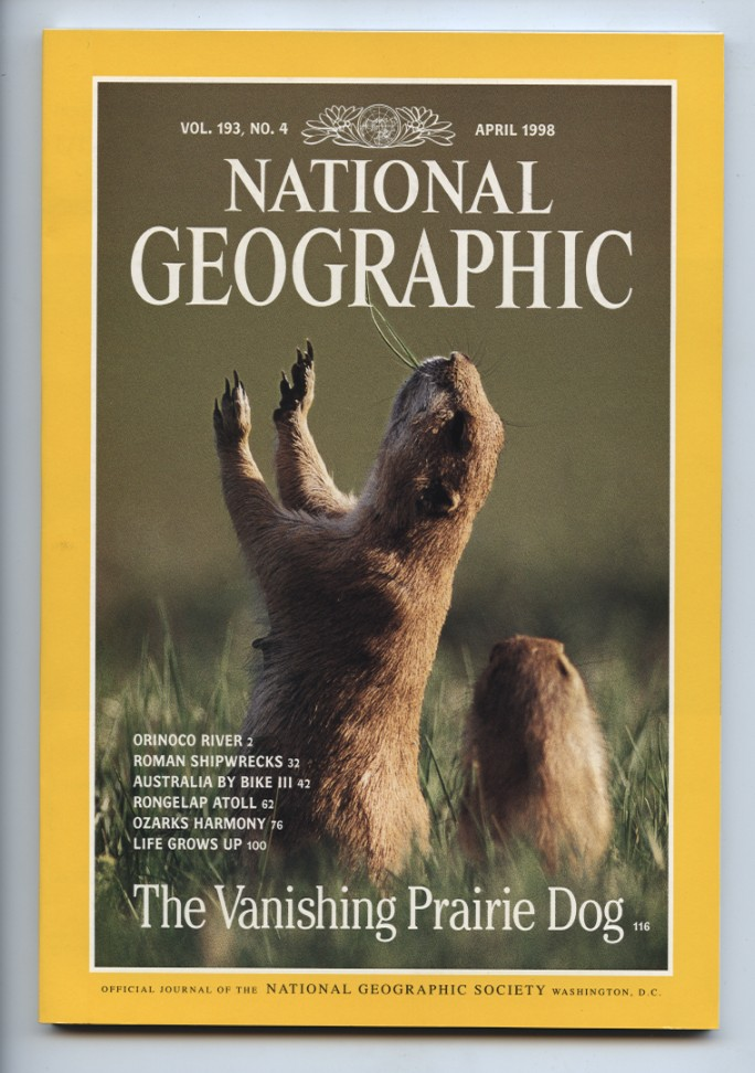 National Geographic Magazine April 1998