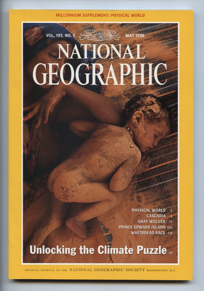 National Geographic Magazine May 1998