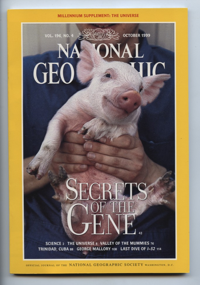 National Geographic Magazine October 1999