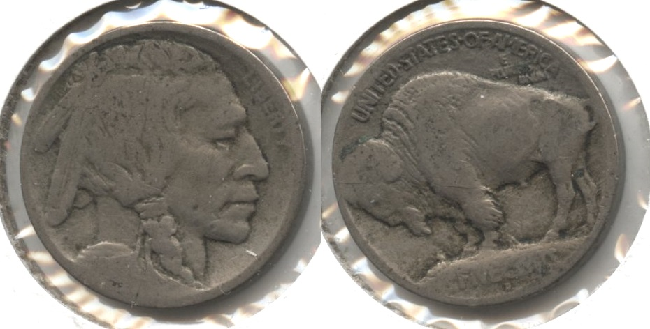 1913-D Type 1 Buffalo Nickel AG-3 #c
