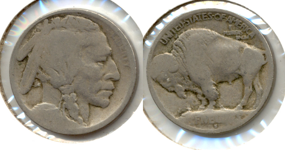 1913-S Type 1 Buffalo Nickel AG-3 a