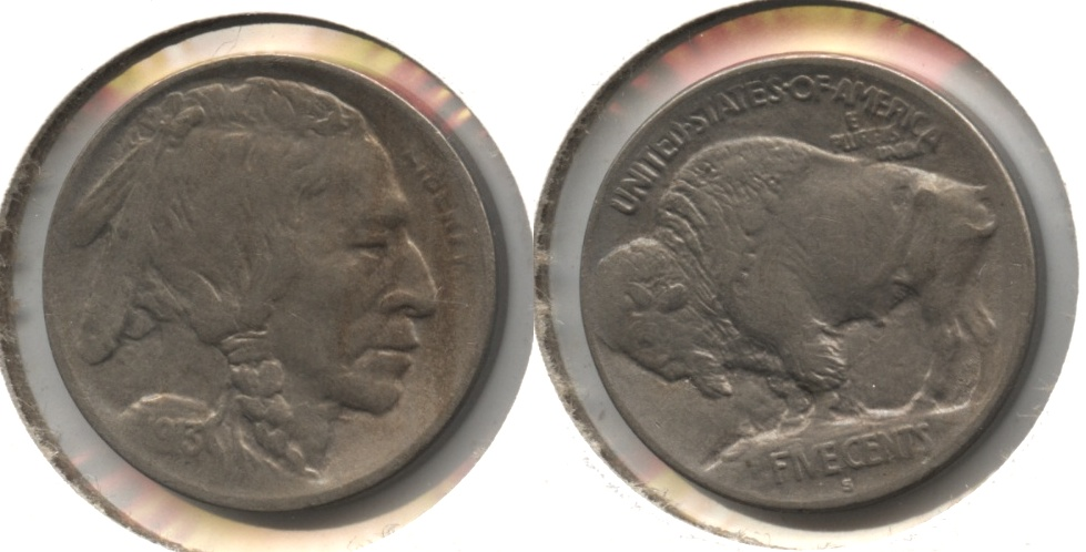 1913-S Type 1 Buffalo Nickel EF-40