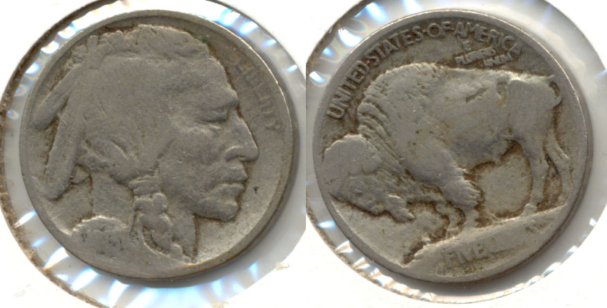 1913 Type 1 Buffalo Nickel AG-3 c