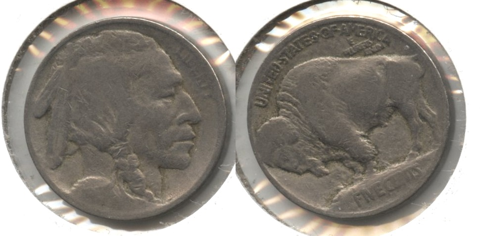 1913 Type 1 Buffalo Nickel AG-3 #j