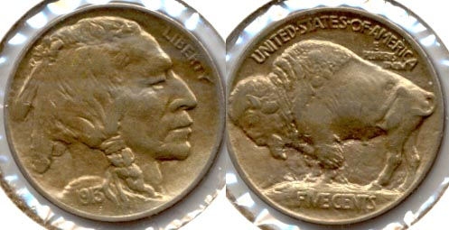1913 Type 1 Buffalo Nickel AU-50 b