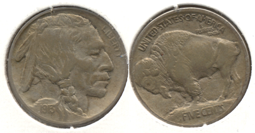 1913 Type 1 Buffalo Nickel EF-40 a