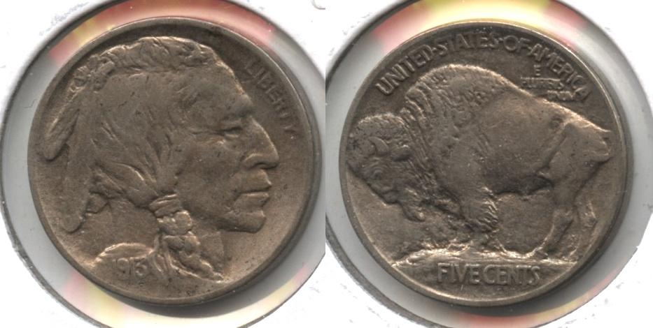 1913 Type 1 Buffalo Nickel EF-40 #d