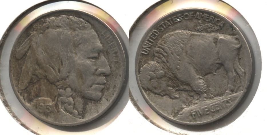 1913 Type 1 Buffalo Nickel EF-40 #f