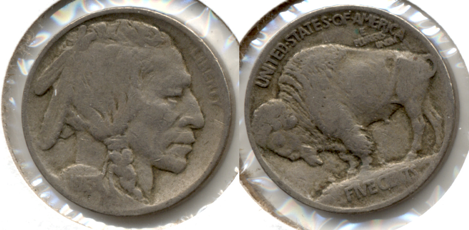 1913 Type 1 Buffalo Nickel Fine-12 i