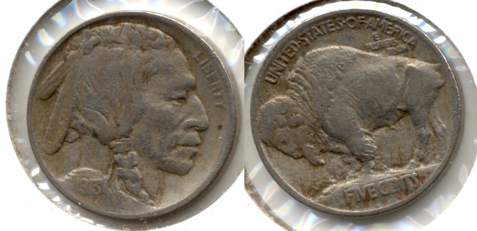 1913 Type 1 Buffalo Nickel Fine-12 j