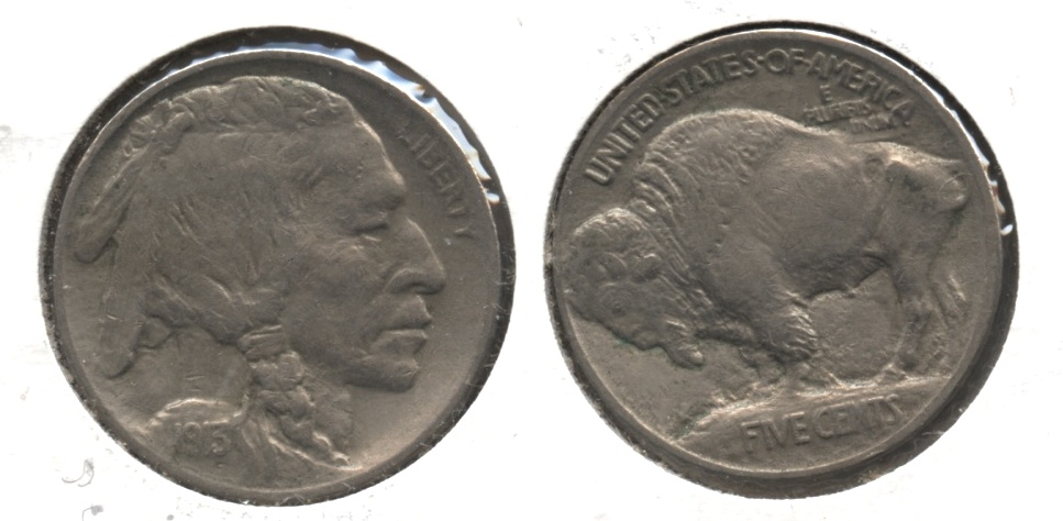 1913 Type 1 Buffalo Nickel VF-20 #f
