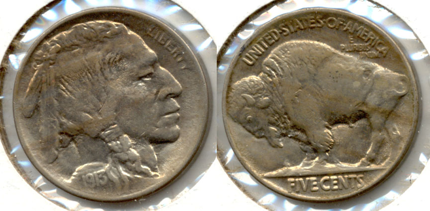 1913 Type 2 Buffalo Nickel MS-60
