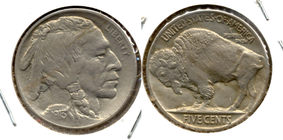 1913 Type 2 Buffalo Nickel MS-63