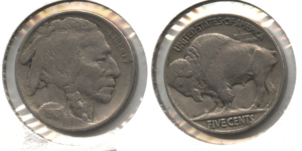 1913 Type 2 Buffalo Nickel VF-20 #b