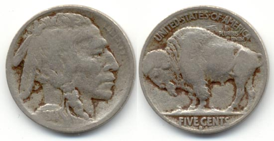 1914-S Buffalo Nickel VG-8