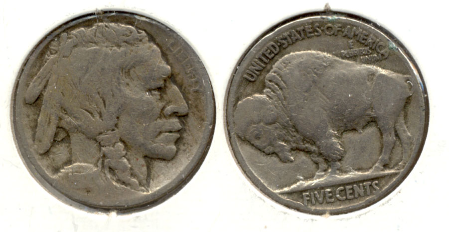 1914 Buffalo Nickel AG-3 d