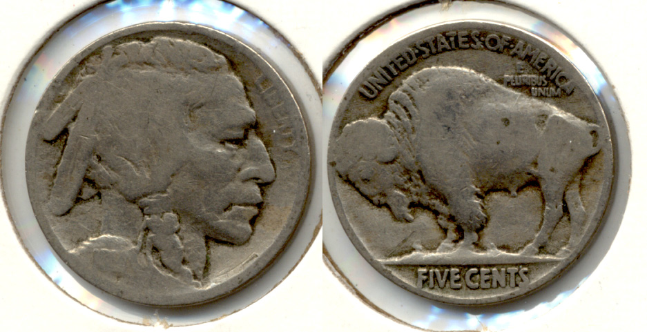 1914 Buffalo Nickel AG-3 g