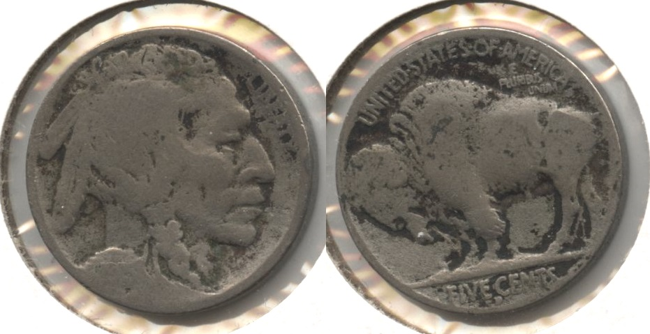 1915-D Buffalo Nickel AG-3