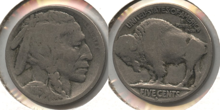 1915-D Buffalo Nickel Good-4
