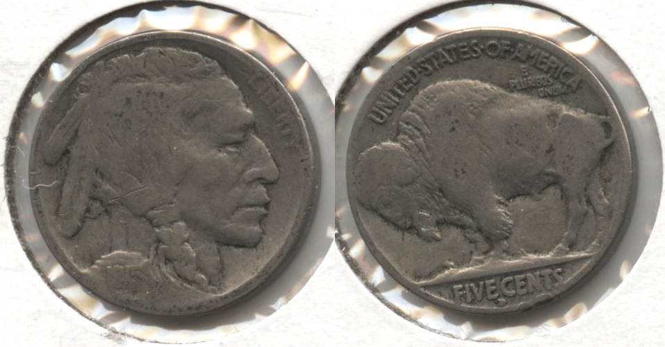 1915-D Buffalo Nickel Good-4 #r