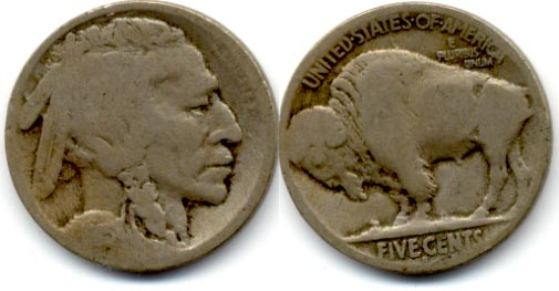 1915-S Buffalo Nickel AG-3