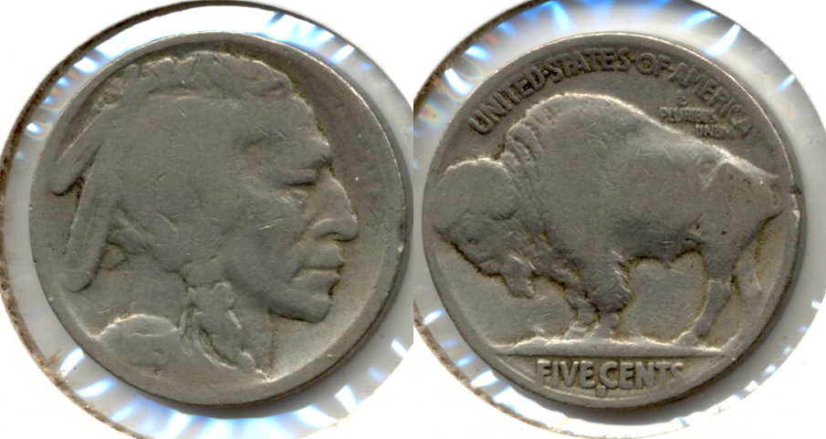 1915-S Buffalo Nickel AG-3 b
