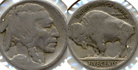 1915 Buffalo Nickel AG-3