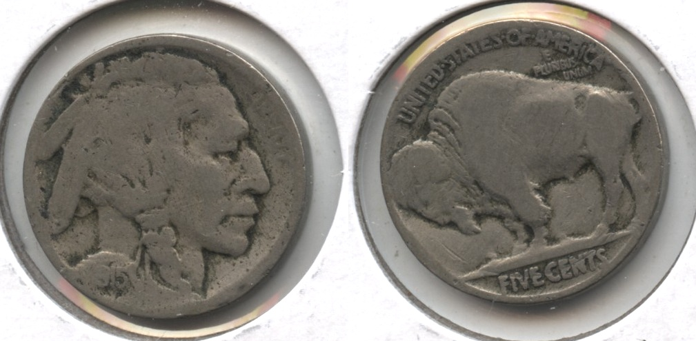 1915 Buffalo Nickel AG-3 #ab