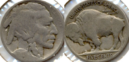 1915 Buffalo Nickel AG-3 b