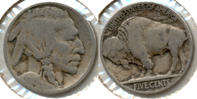 1915 Buffalo Nickel AG-3 d