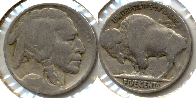 1915 Buffalo Nickel AG-3 e