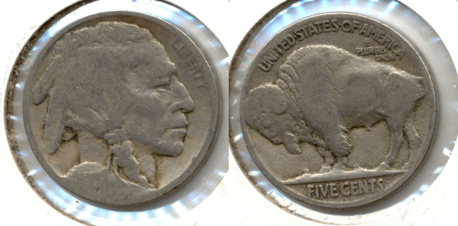 1915 Buffalo Nickel AG-3 j