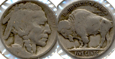 1915 Buffalo Nickel Good-4 b