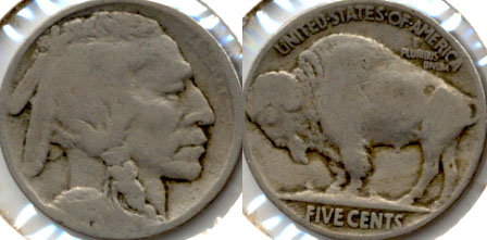 1915 Buffalo Nickel Good-4 k