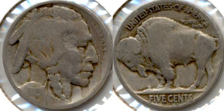 1915 Buffalo Nickel Good-4 l