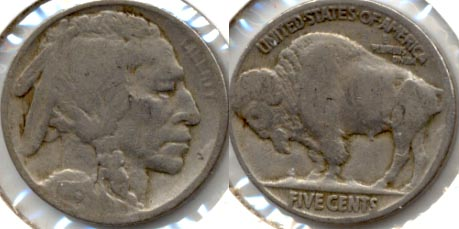 1915 Buffalo Nickel Good-4 m