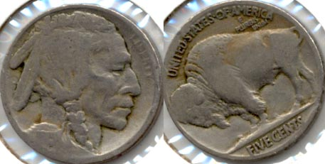 1915 Buffalo Nickel Good-4 o