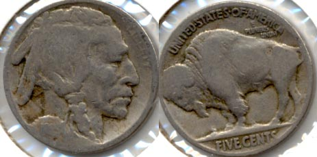 1915 Buffalo Nickel Good-4 p