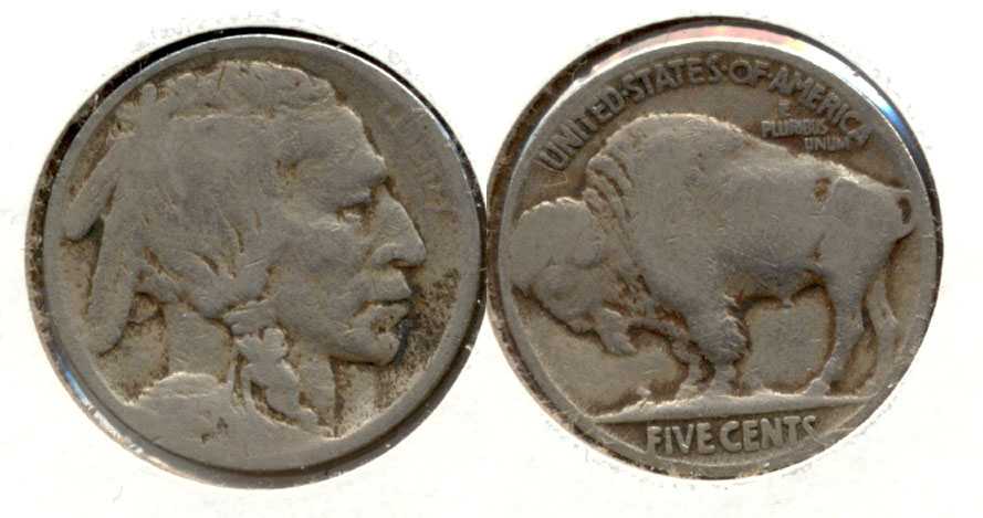 1915 Buffalo Nickel Good-4 x