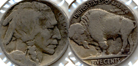 1915 Buffalo Nickel Good-6 Porous