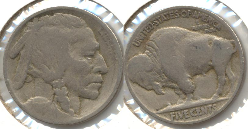 1916 Buffalo Nickel AG-3 e