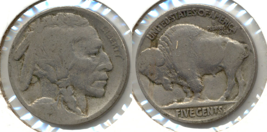 1916 Buffalo Nickel AG-3 l
