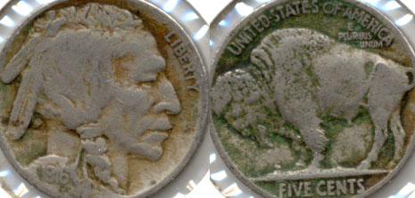 1916 Buffalo Nickel Fine-12