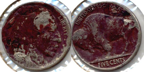 1916 Buffalo Nickel Fine-12 b Dark