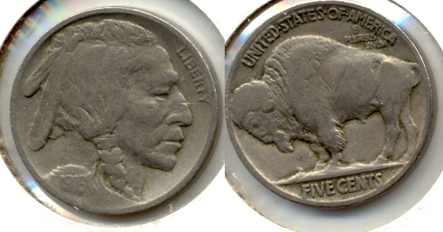 1916 Buffalo Nickel Fine-12 m
