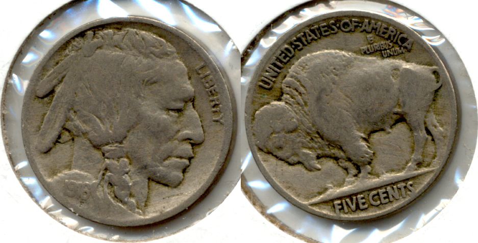 1916 Buffalo Nickel Fine-12 q