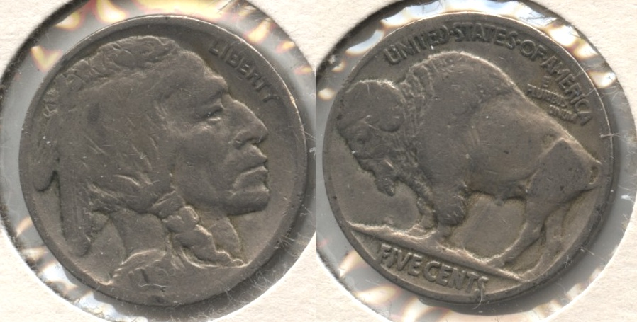 1916 Buffalo Nickel Good-4 #ar