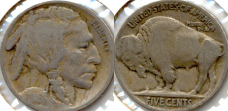1916 Buffalo Nickel Good-4 d